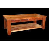 Jorgensen Coffee Table with Shelf by Loon Peak®