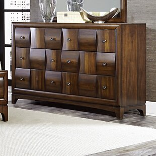 Ainslie Brook 6 Drawer Double Dresser by World Menagerie