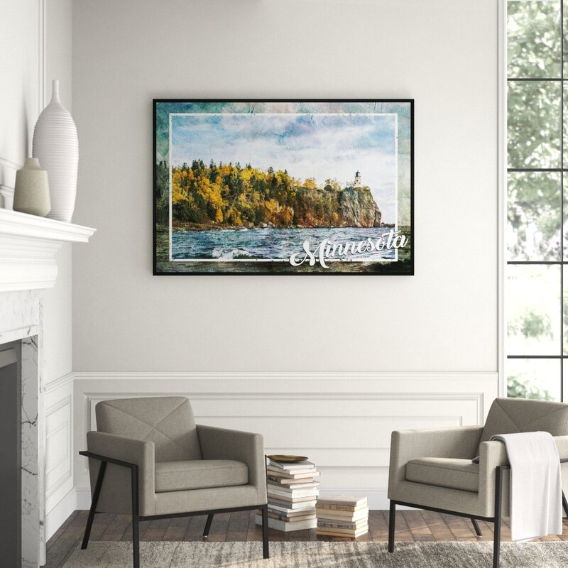 Jbass Grand Gallery Collection Minnesota River Framed Graphic Art On Canvas Perigold