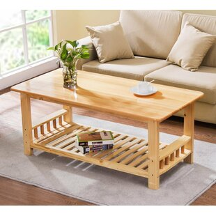 Beaulah Coffee Table by Winston Porter