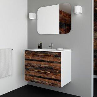 Suspended Vanity Wayfair - Suspended bathroom vanity