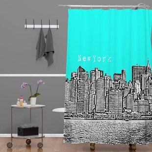 Bird Ave New York Single Shower Curtain
