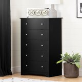 Olympia 5 Drawer Standard Dresser by Andover Mills™
