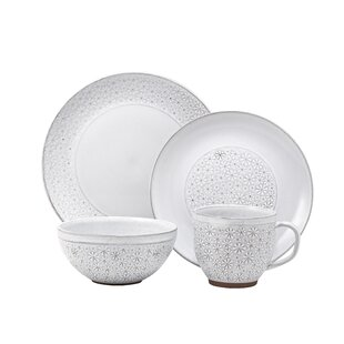 Carole 16 Piece Dinnerware Set, Service for 4