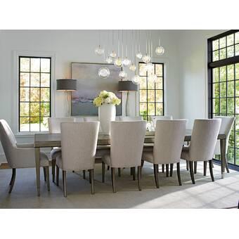 Bernhardt Axiom 9 Piece Extendable Dining Set & Reviews ...