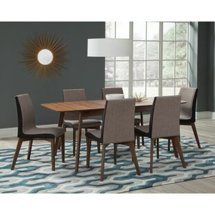 Corrigan Studio Earls 7 Piece Extendable Dining Set