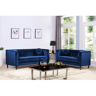 Blue Living Room Sets You\'ll Love in 2019 | Wayfair