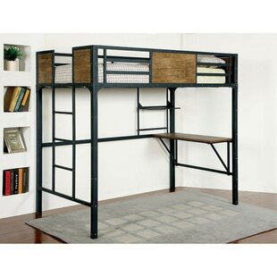 Southmead Twin Bunk Bed with Workstation