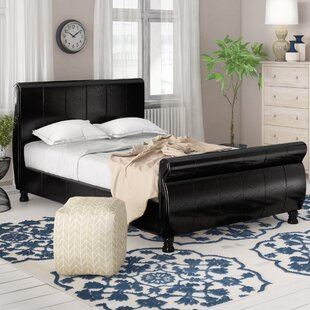 Blinman Upholstered Sleigh Bed By ClassicLiving