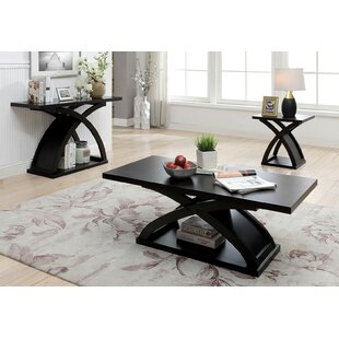 Farmer 3 Piece Coffee Table Set by Brayden Studio New