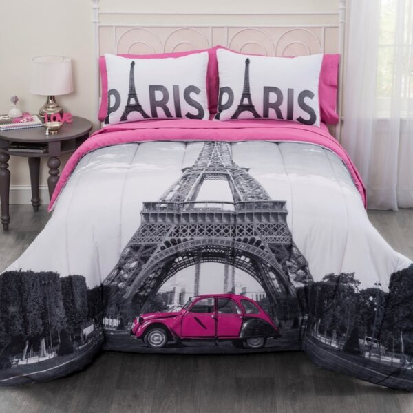 Eiffel Tower Comforter Set Wayfair