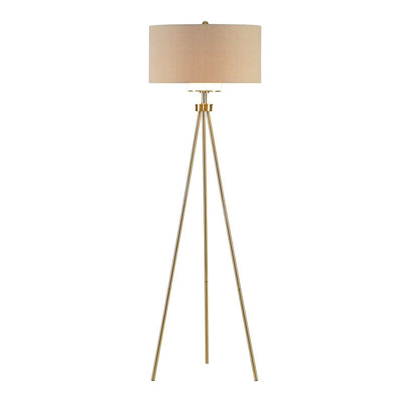 Riddleville 65 Tripod Floor Lamp