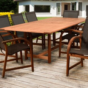 Arthen Solid Wood Dining Table by Darby Home Co