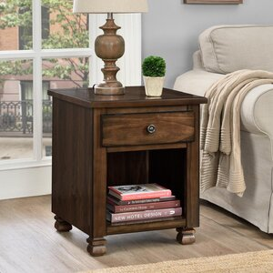 Gutierres End Table With Storage