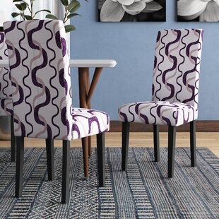 Swarthout Parsons Chair (Set of 2) by Latitude Run