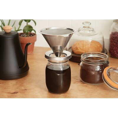 Stainless Steel Coffee Canning Jar Symple Stuff