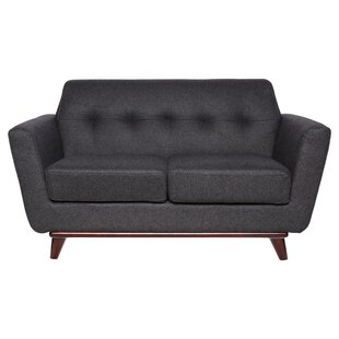 Bureen Modern Tufted Loveseat by George Oliver