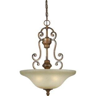 Fleur De Lis Living Bewley 4-Light Bowl Pendant