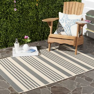 Amalia Gray/Beige Indoor/Outdoor Area Rug