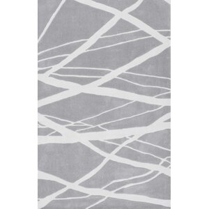 Cine Calypso Hand-Tufted Gray Area Rug