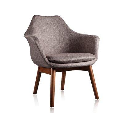 Brayden Studio Shue Armchair Upholstery: Grey