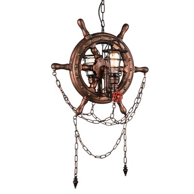 Breakwater Bay Mekhi 2-Light Novelty Chandelier