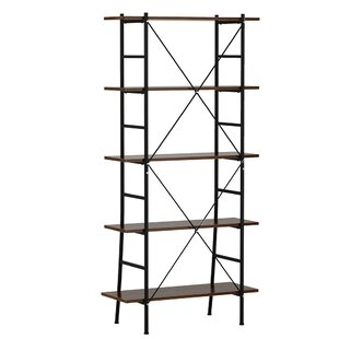 Dame Multifunctional 5-Tier Etagere Bookcase by Gracie Oaks