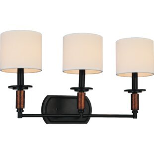 Dobbins 3-Light Vanity light by Charlton Home