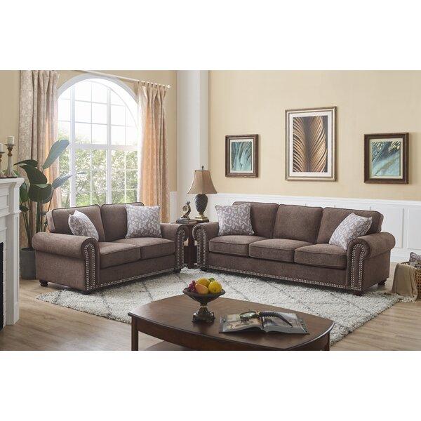 Stupendous Nailhead Trim Living Room Set Wayfair Pabps2019 Chair Design Images Pabps2019Com