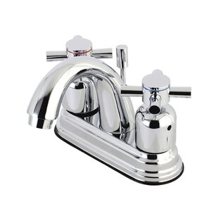 Concord Centerset Bathroom Faucet with Drain Assembly ByKingston Brass