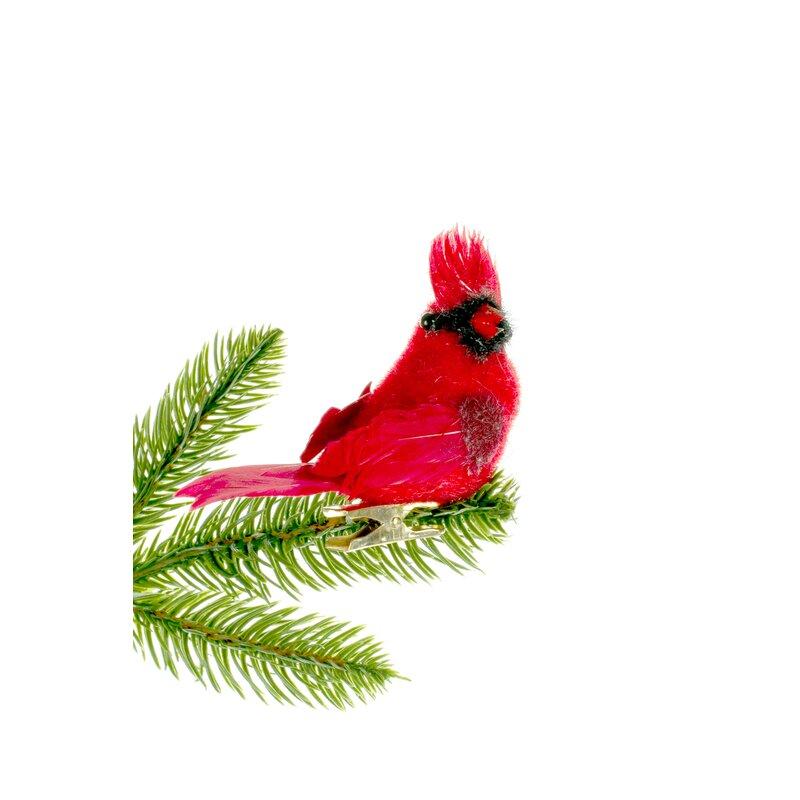 Jj S Holiday Gifts Ltd Clip On Cardinal Hanging Figurine Ornament Wayfair