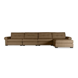 Darby Home Co Lebanon Buttoned Sectional