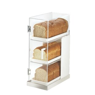 Luxe 3 Tier Bread Box Frost Display by Cal-Mil
