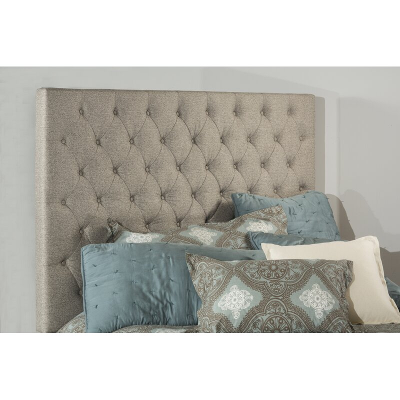 Alcott Hill Amoll Upholstered Panel Headboard Wayfair