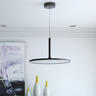 Wade Logan Resa 1-Light LED Geometric Pendant