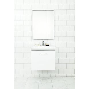 Philomene 60cm Wall-Mounted Vanity Unit Base By Ebern Designs