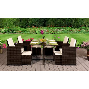 Julianna 8 Seater Dining Set With Cushions Image
