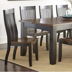 Griffey Solid Wood Dining Chair Set Of 2