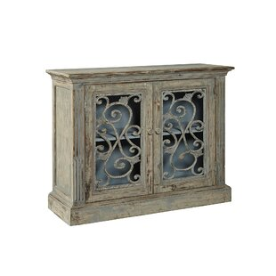 Chateau Morrisette Cast Iron Server 2 Door Accent Cabinet by R. Douglas Home
