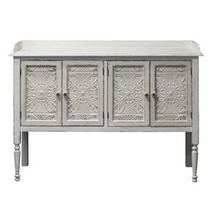 Parikh Vintage 4 Door Accent Cabinet by Bungalow Rose