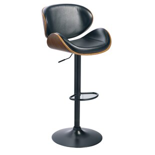 Galento Adjustable Height Swivel Bar Stool by 17 Stories Cool