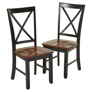 Watlington Solid Wood Dining Chair (Set of 2) Charlton Home
