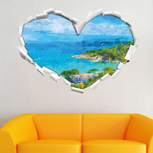 Panorama Of The Italian Coast In Tuscany Wall Sticker By East Urban Home
