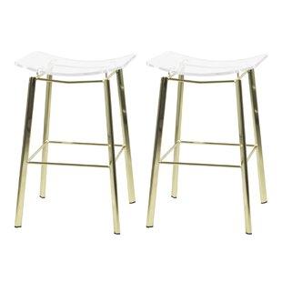 Cool Dru 24 Bar Stool Set Of 2 Inzonedesignstudio Interior Chair Design Inzonedesignstudiocom