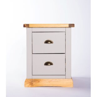 Caelo 2 Drawer Bedside Table By Brambly Cottage