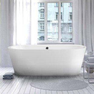 Melania 68 inch  x 32 inch  Soaking Bathtub
