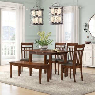 Phoenixville Faux Leather 6 Piece Dining Set by Three Posts
