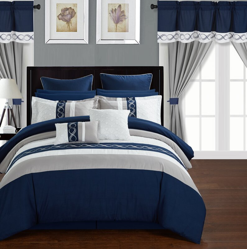 Exceptional Rossett 24 Piece Bed In A Bag Set