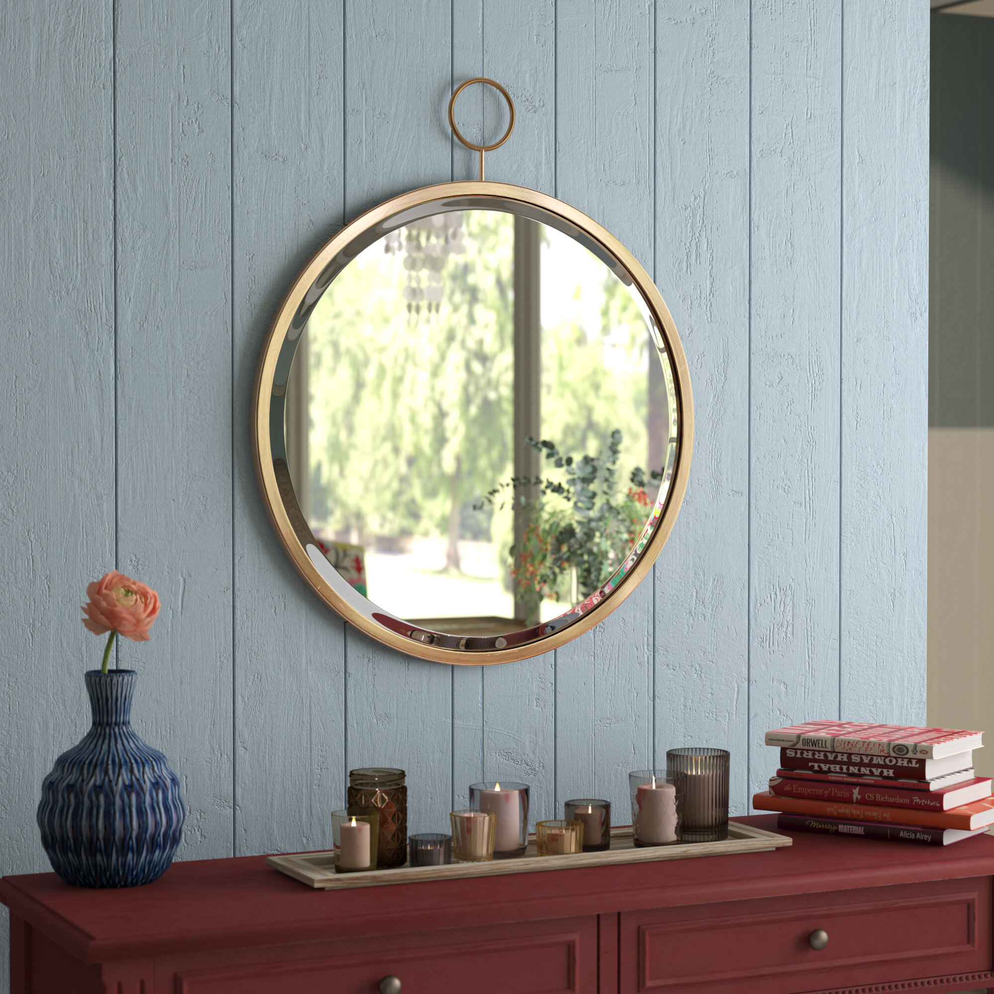 Mistana Modern And Contemporary Beveled Accent Mirror Reviews Wayfair