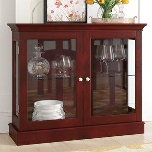 Charlton Home Granborough Floor Standing Curio Cabinet